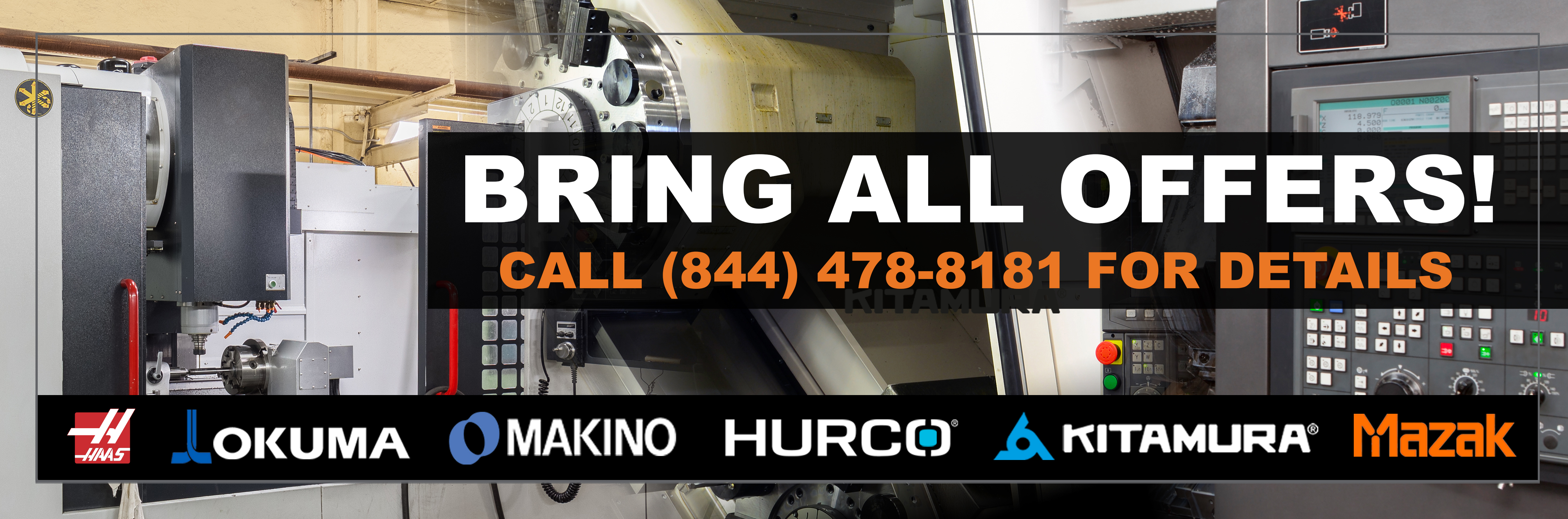 View Our Featured New & Used CNC Machines | Resell CNC