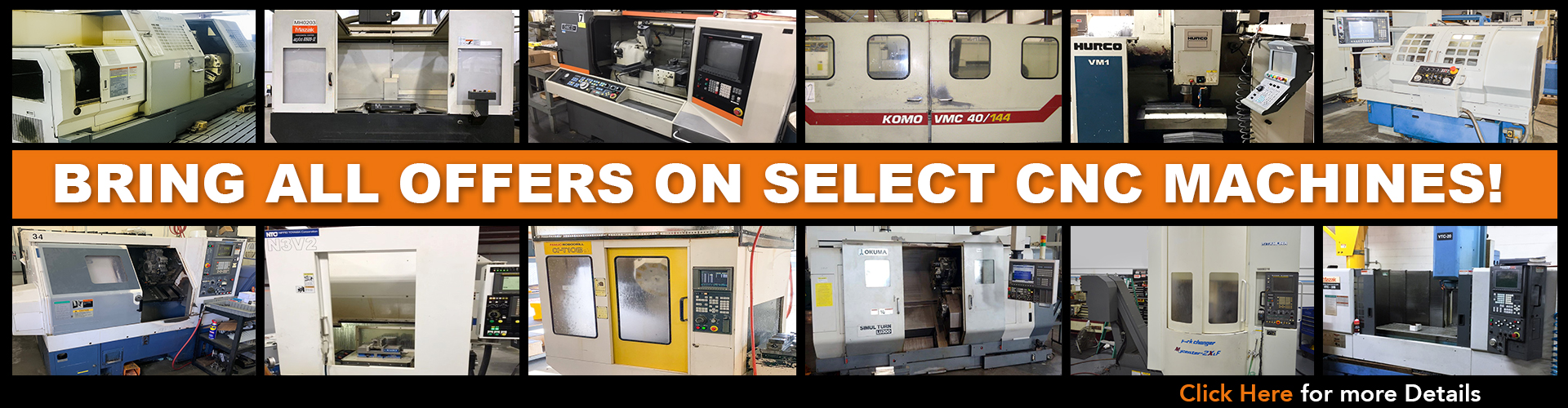 Resell CNC - Used CNC Machines & Used Mazak Lathes